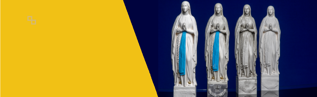 statues of the Virgin Mary of the Grotto of LOURDES
